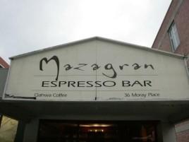 Popular cafe #2: Mazagran Espresso Bar in Dunedin CBD