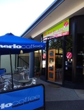 Popular cafe #1: Blah Blah in Emerald