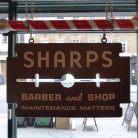 Photo of cafe Sharps Barber and Shop taken by duncancumming