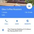 Glee coffee roasters