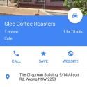 Photo of cafe Glee coffee roasters  taken by chrisclarkes