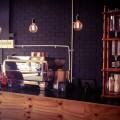Orange & Black Espresso Bar